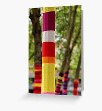 Tree Socks Greeting Card