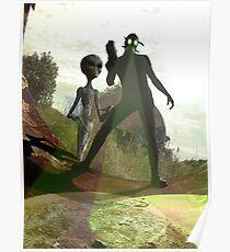 Alien Hunters Poster