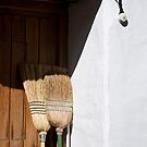 Two brooms by Liza Kirwan