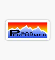Peak Performer Sticker