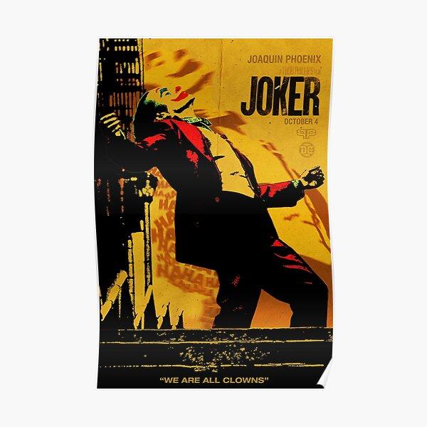 "Affiche ""Joker"" Poster"