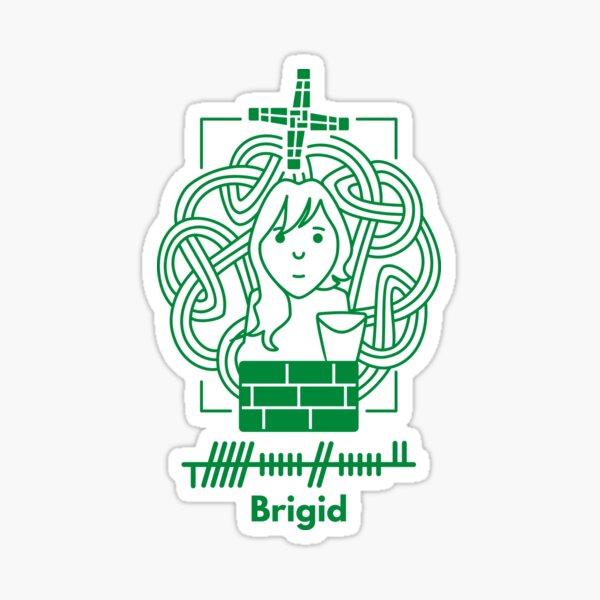 Brigid Sticker