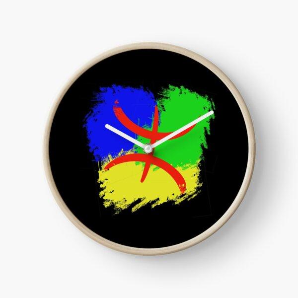Drapeau berbère, drapeau amazigh Horloge