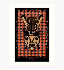 San Francisco Native Giants Art Print