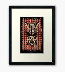 San Francisco Native Giants Framed Print