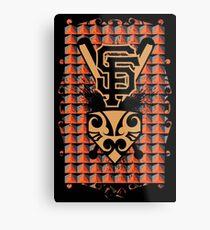San Francisco Native Giants Metal Print