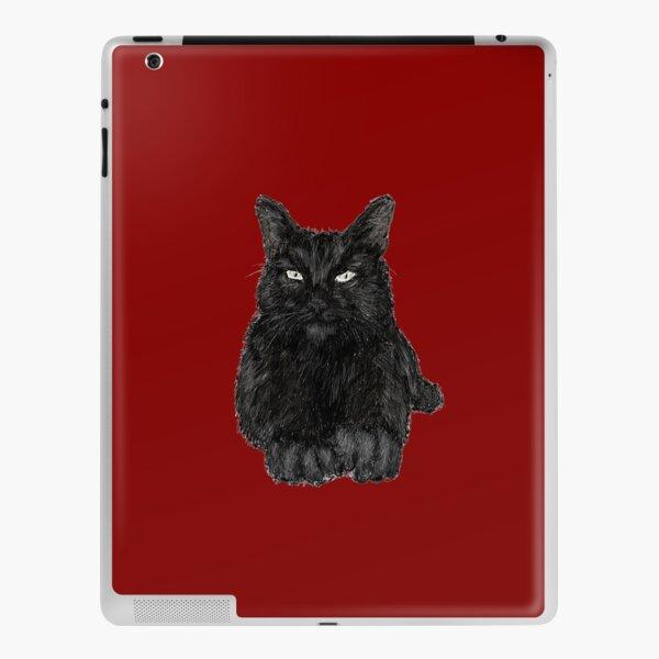 Black Cat iPad Skin