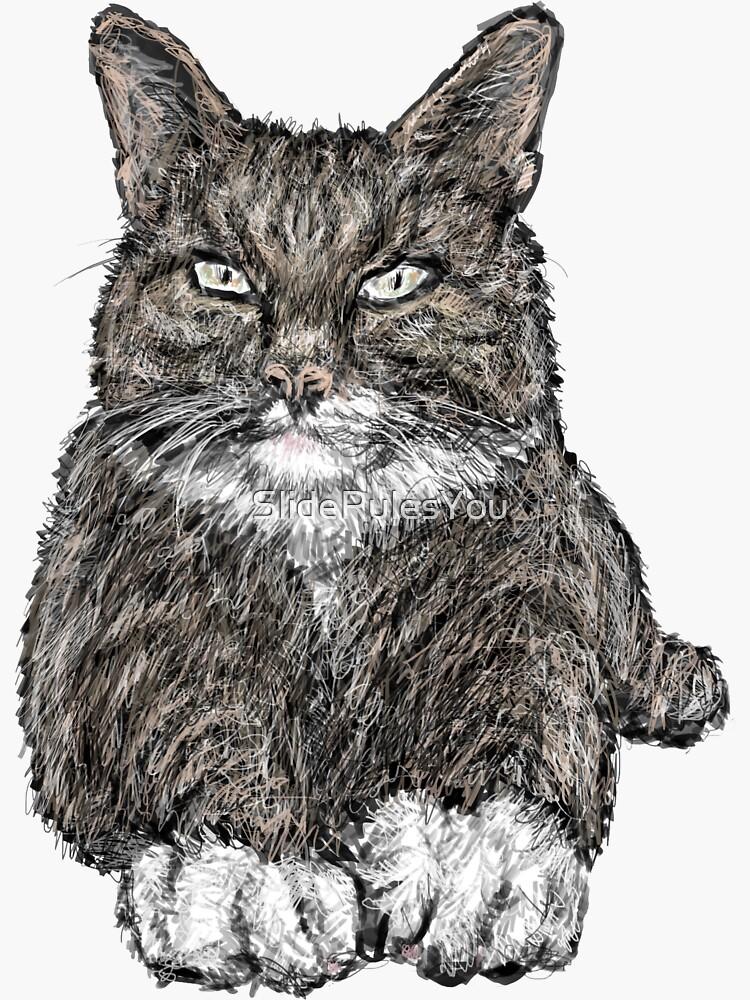 Tabby Cat by SlideRulesYou