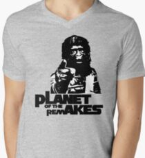 Planet of the Remakes Men's V-Neck T-Shirt