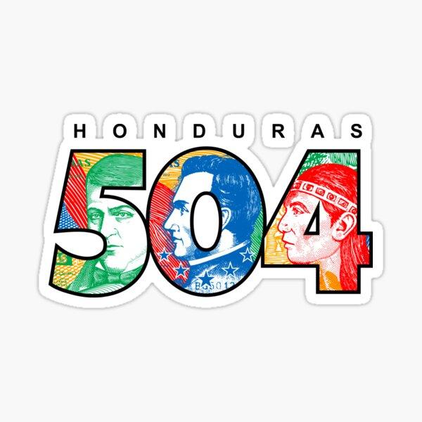 504 Honduras Pegatina