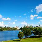 Ottawa Skyline by Josef Pittner