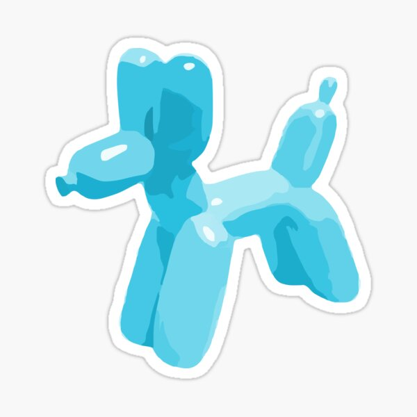 Balloon Dog Sticker