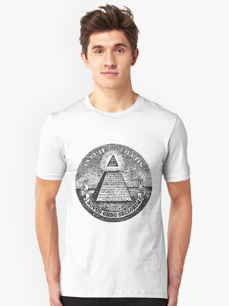 The All Seeing Eye Unisex T-Shirt Front