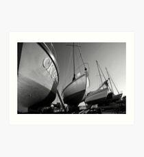 Boatyard Art Print