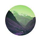 Purple Mountains - Peru by Carly Chapman