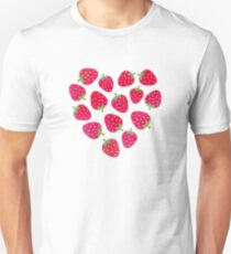 Strawberries and Chocolate Unisex T-Shirt
