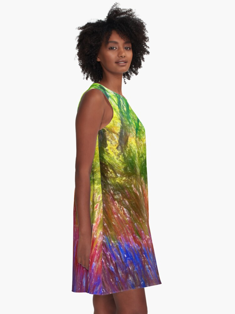 Alternate view of Spring in the park A-Line Dress