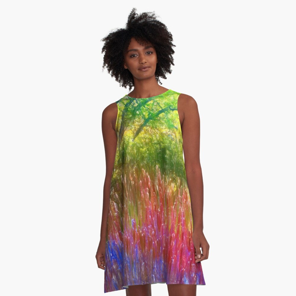 Spring in the park A-Line Dress