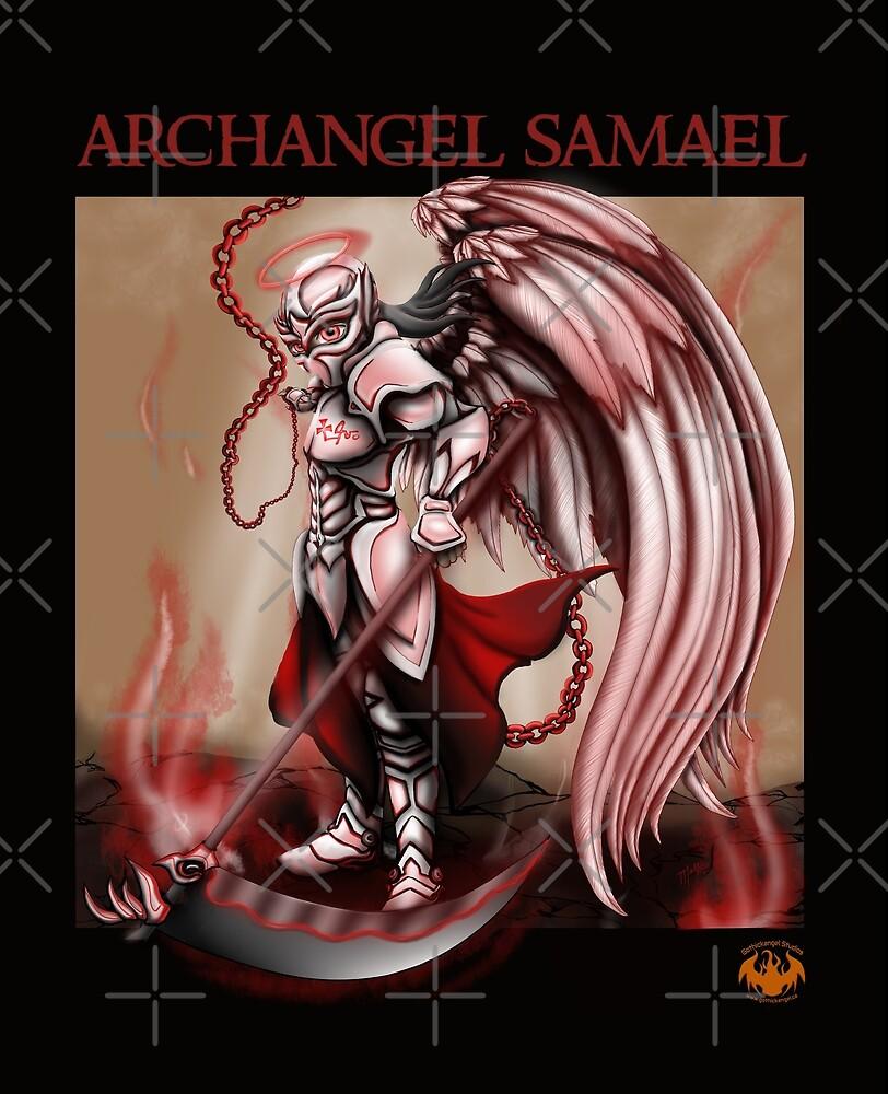 Archangel Samael by GothickangelCa