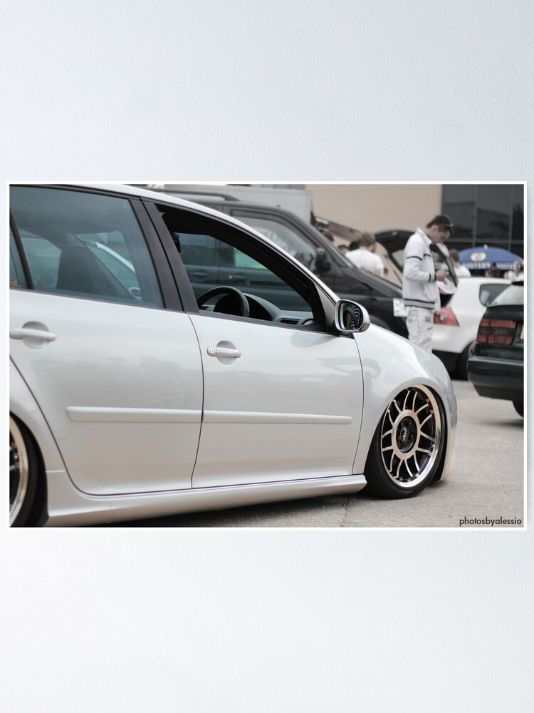 Mk5 Golf Gti Poster By Photosbyalessio Redbubble