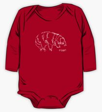 Oh Noes a Water Bear!  Long Sleeve Baby One-Piece