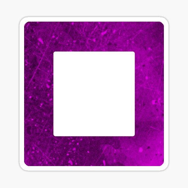 Botones del controlador: cuadrados Pegatina