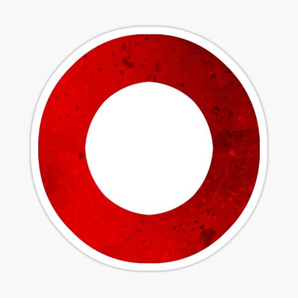 Botones del controlador: círculo Pegatina