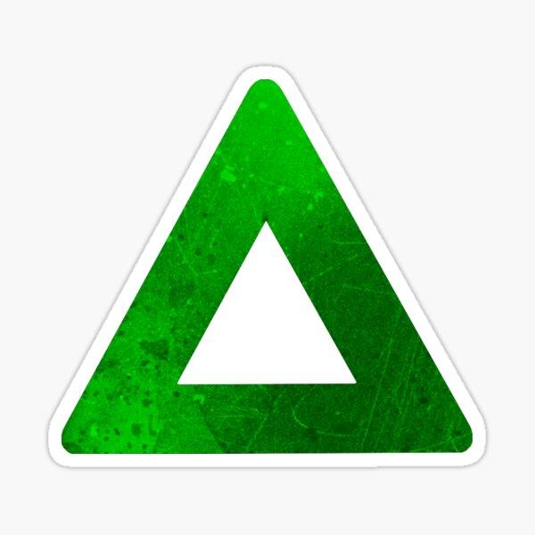 Botones del controlador - Triángulo Pegatina
