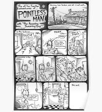 "Pointless Man ""Toast"" Poster"