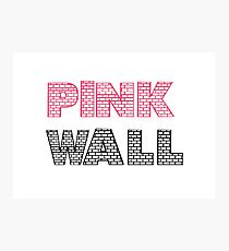 Pink Floyd The Wall Album Photographic Print