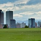Skyline over the green by MarcVDS