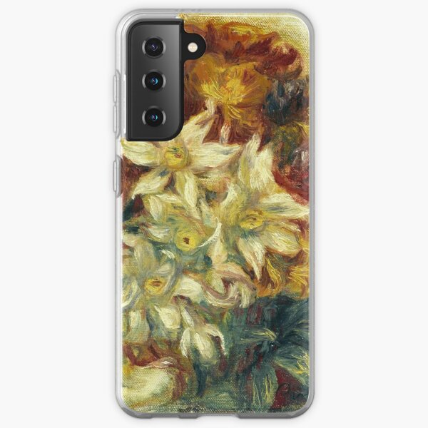 Bouquet with narcissi and roses Samsung Galaxy Soft Case