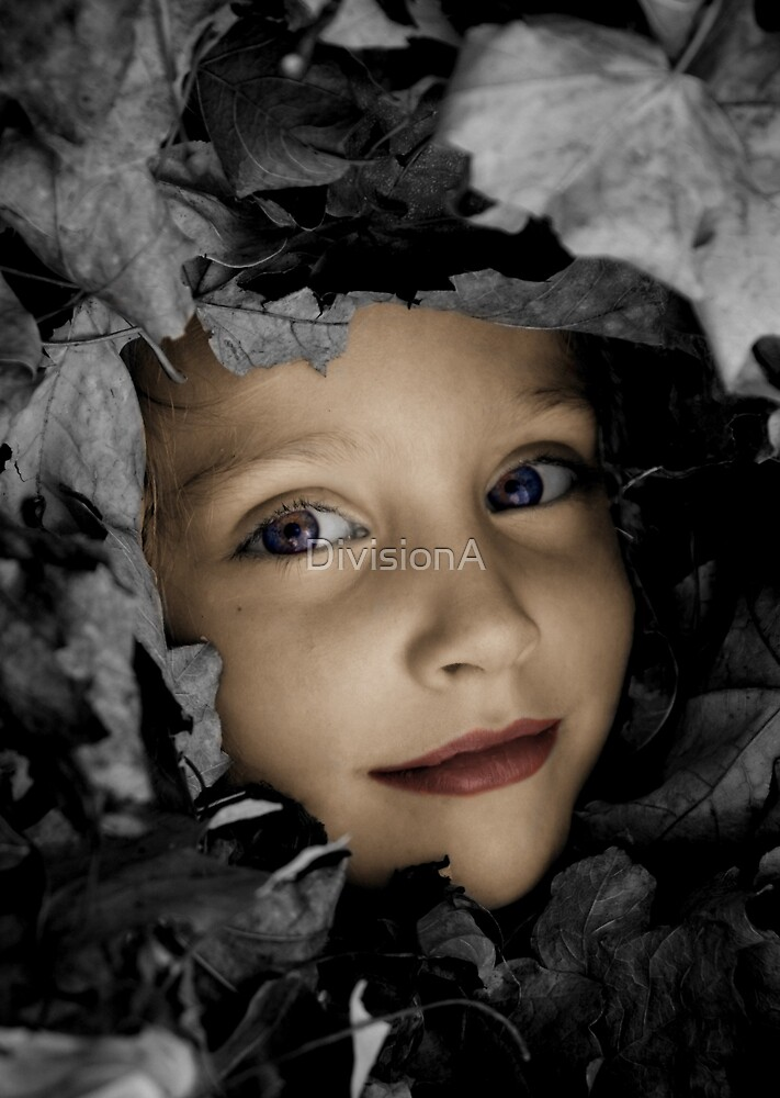 Playing in Leaves 1 by DivisionA