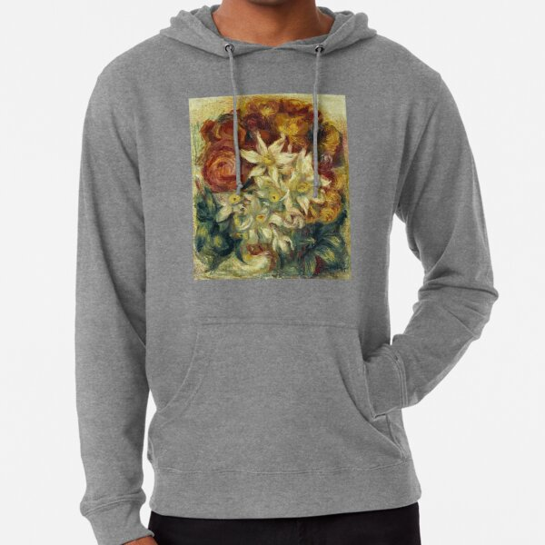 Bouquet with narcissi and roses Lightweight Hoodie