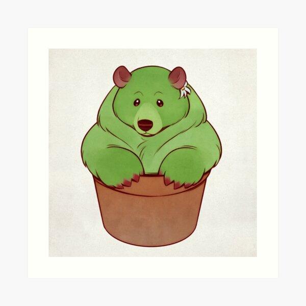Bear Paw Pot Art Print