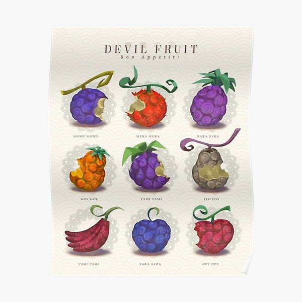 The fruits of the devil: Good appetite: D Poster
