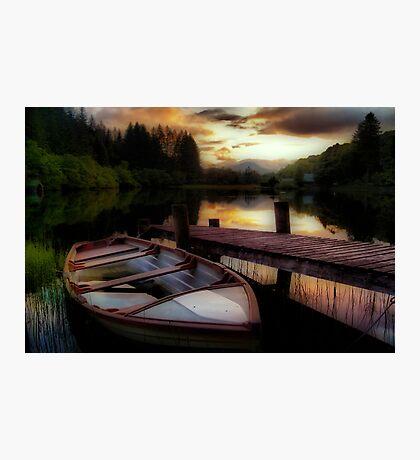 Summer's Sunset,Loch Ard Photographic Print