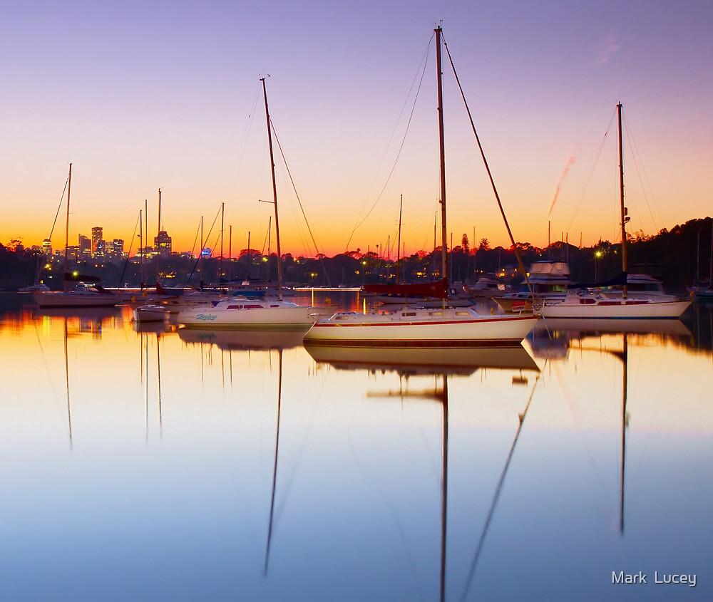 River Dawn by Mark  Lucey