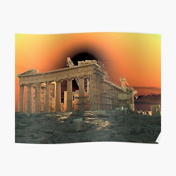Acropolis, Athens  Poster