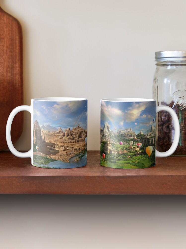 Alternate view of Valley Of The Temples - spiritual, peaceful temple art coexist Mug