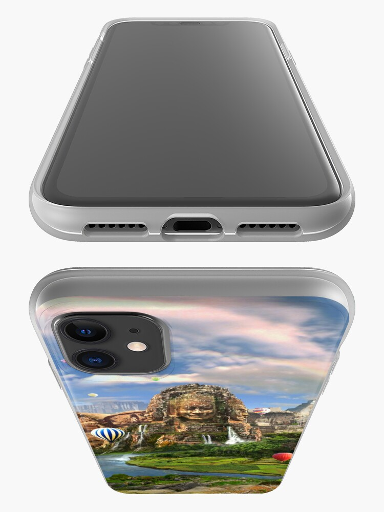 Alternate view of Valley Of The Temples - spiritual, peaceful temple art coexist iPhone Case & Cover