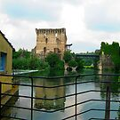 Borghetto sul Mincio - The Visconteo Bridge by sstarlightss