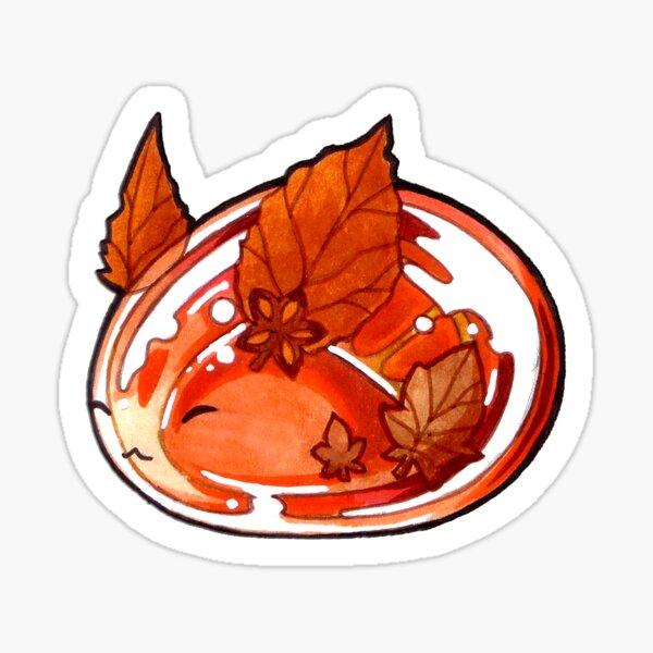 Autumn Bunny Sticker