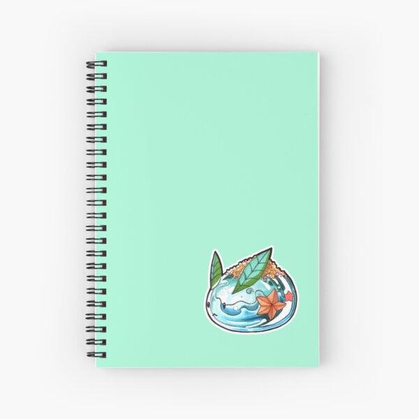 Summer Bunny Spiral Notebook