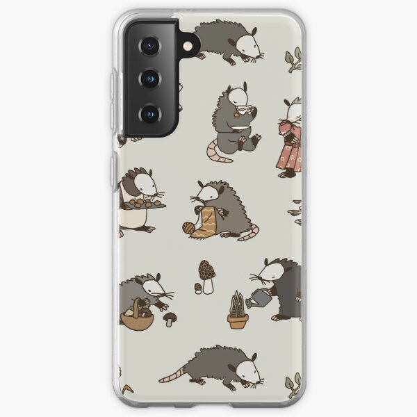 Cottagecore Opossums Samsung Galaxy Soft Case