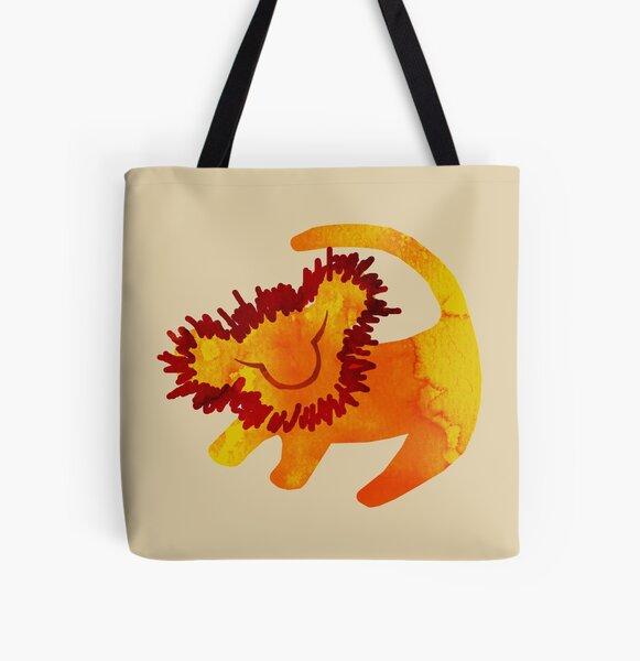 Simba All Over Print Tote Bag