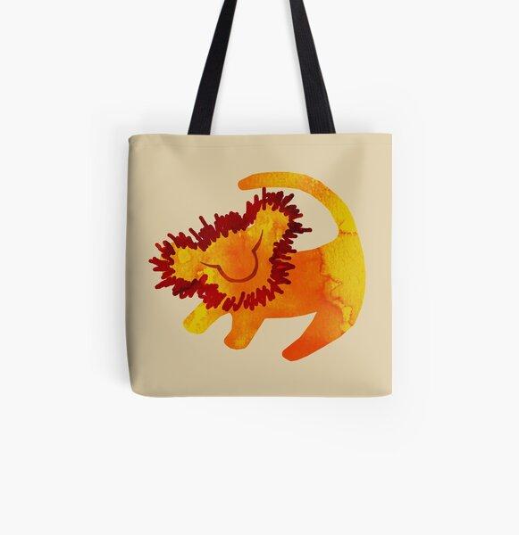 Simba Allover-Print Tote Bag