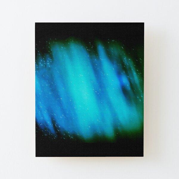Aurora Lights Style Wood Mounted Print