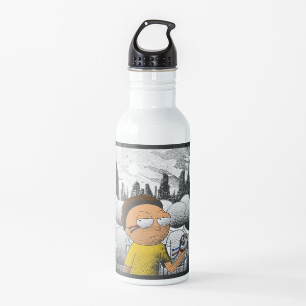 Rick and Morty | Stipple Evil Morty Water Bottle
