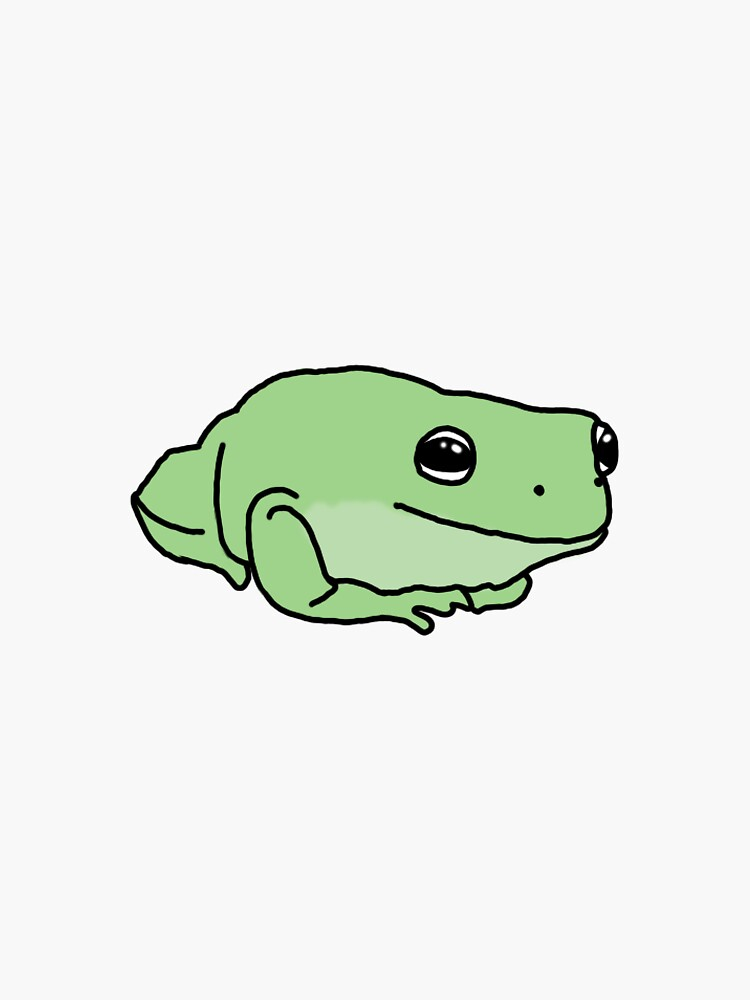 little green frog by anniemp202